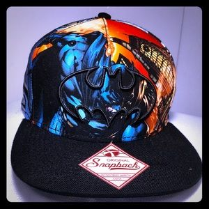 SnapBack Batman Hat - Adult